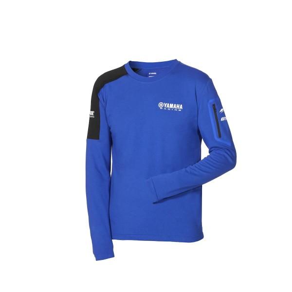 Yamaha Paddock Blue Men's Long-sleeved T-Shirt