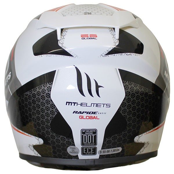 MT Rapide Global - White / Red / Grey