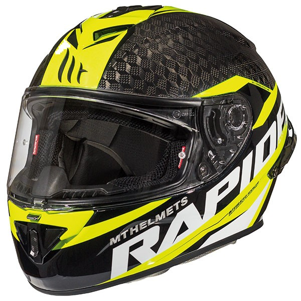 MT Rapide Pro Carbon - Carbon / Fluo Yellow