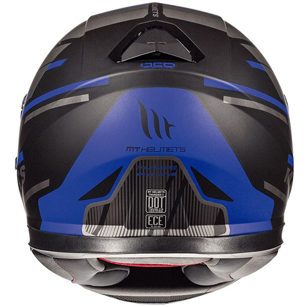 MT Thunder 3 SV Pitlane - Matt Black / Blue