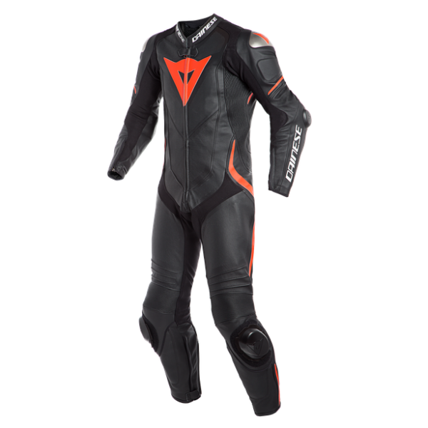 Dainese Laguna Seca 4 1 Piece Leather Suit Blk/Flu