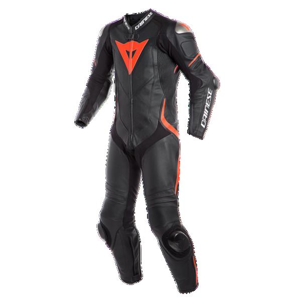 Dainese Laguna Seca 4 1 Piece Leather Suit Blk/Flu