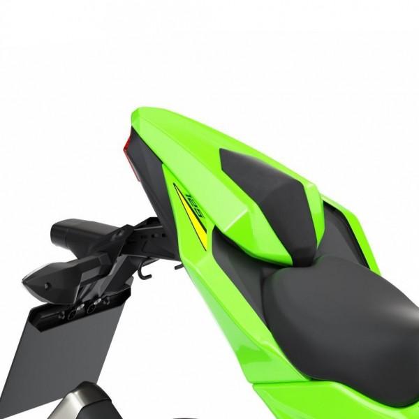 Kawasaki Z125 Pillion seat cover Lime Green