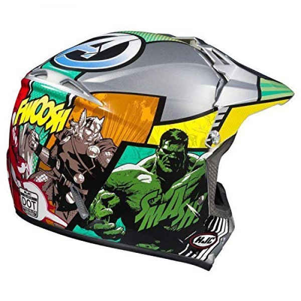 HJC CL-XY 2 Marvel Avengers Youth Motocross Helmet