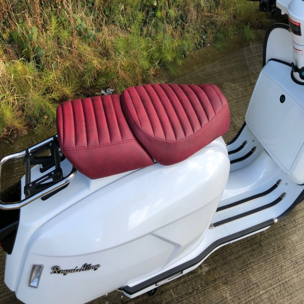 Royal Alloy GP Twin Seat Red