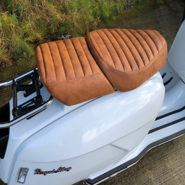 Royal Alloy GP Twin Seat Brown