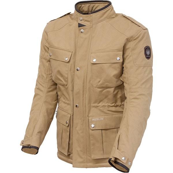 Merlin Motley Textile Jacket - Tan