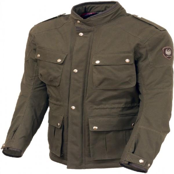 Merlin Motley Textile Jacket - Peat