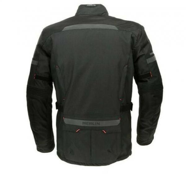 Merlin Peake Outlast Textile Motorcycle Jacket Black
