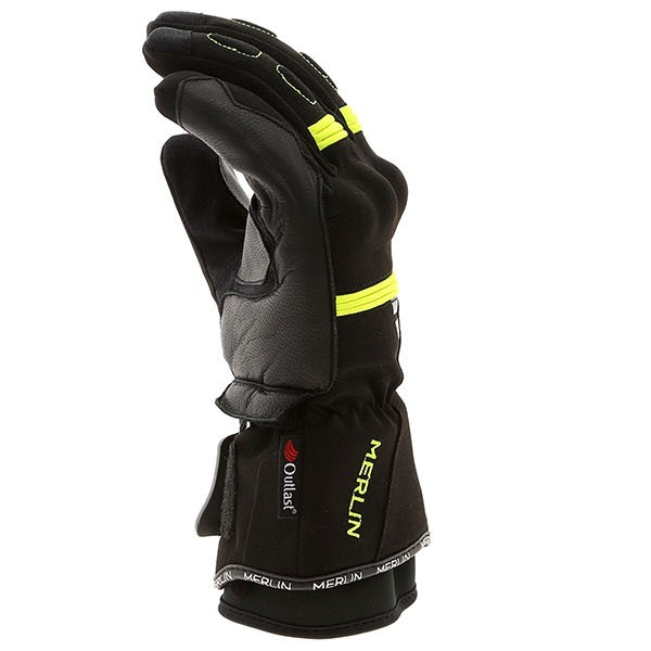 Merlin Titan Outlast Waterproof Gloves Black/Fluro