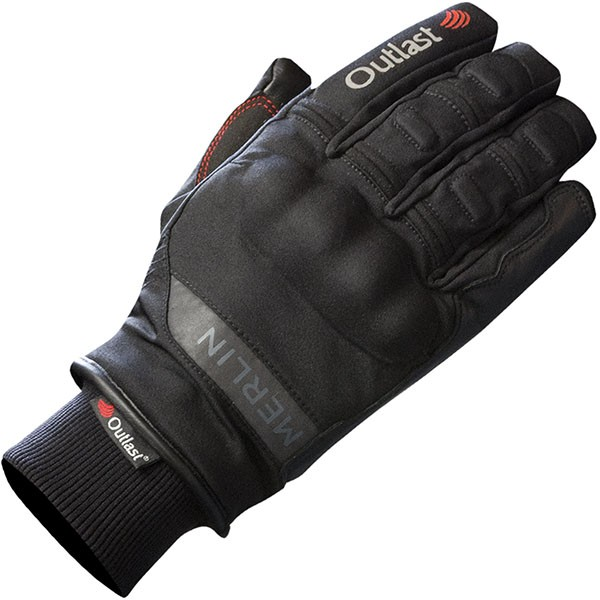 Merlin Leather & Textile Orion Outlast Gloves Black