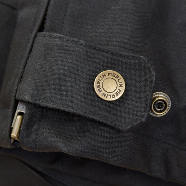 Merlin Elford Wax Jeans Black