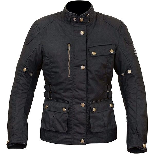Merlin Ladies Harriet Textile Jacket - Black