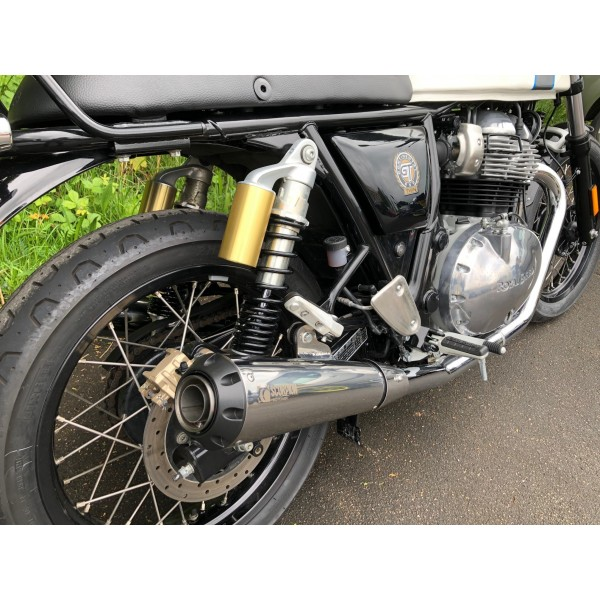 Royal Enfield 650 Twins Scorpion Black Edition Performance Exhaust (Pair)