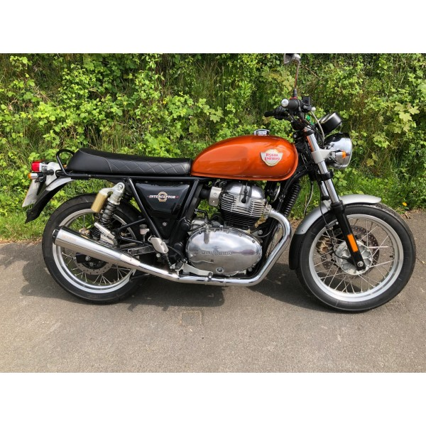 Royal Enfield GT & Interceptor 650 Twins Scorpion Stainless Edition Performance Exhaust (Pair)