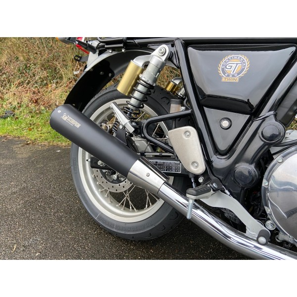 Royal Enfield GT & Interceptor 650 Twins Scorpion Black Edition Performance Exhaust (Pair)