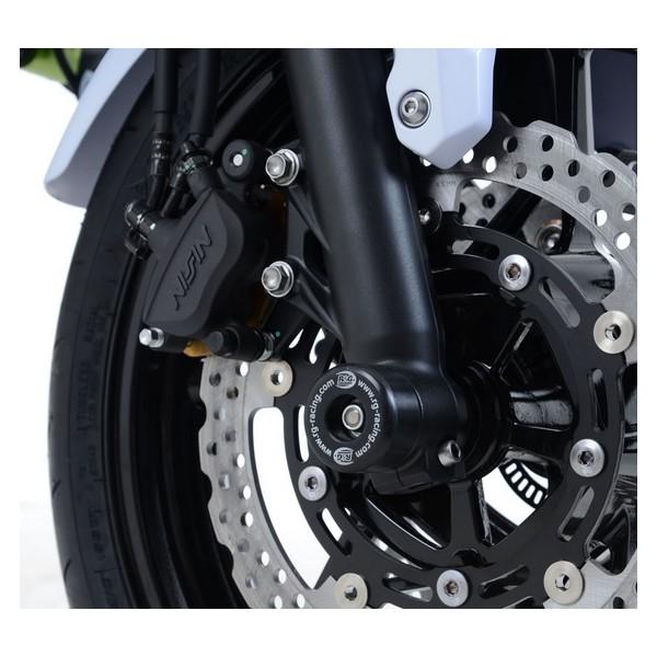 R&G Fork Protectors for the Kawasaki Z650 '17- and Ninja 650 '17 FP0192BK