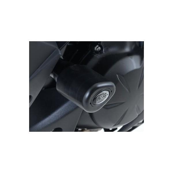 R&G Aero Crash Protectors for Kawasaki Versys 650 2015- CP0386BL