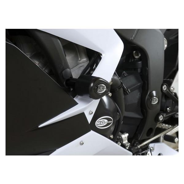 R&G Crash Protectors - Aero Style for Kawasaki ZX6R 636 ('13'-17) - CP0328BL