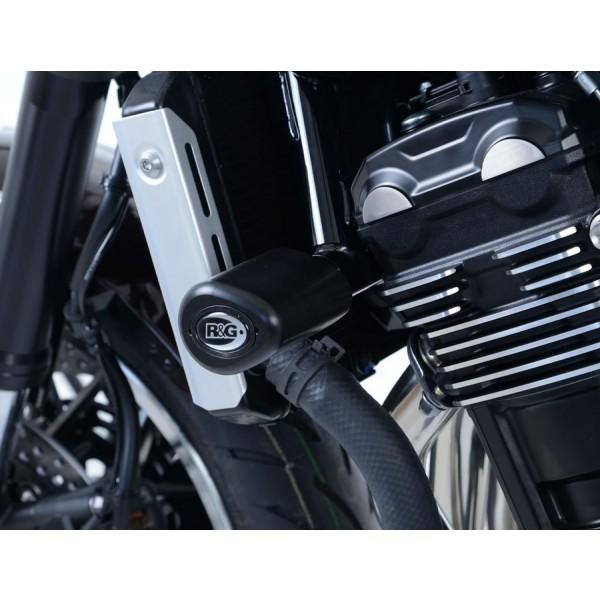 R&G Crash Protectors - Aero Style for Kawasaki Z900RS '18- CP0440BL
