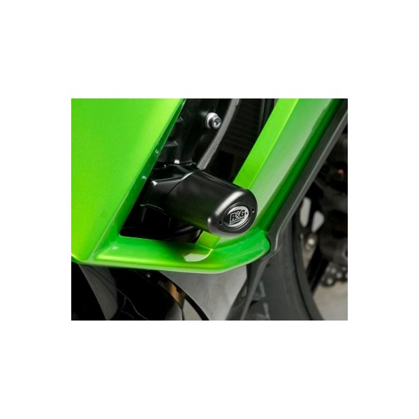 R&G Crash Protectors - Aero Style for Kawasaki Z1000SX '11-'16 CP0278BL