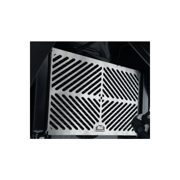 R&G Stainless Steel Radiator Guard for Kawasaki Versys 650 2015-
