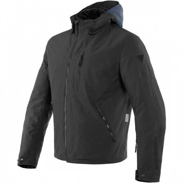 Dainese Mayfair D-Dry Textile Jacket - Ebony / Black / Black