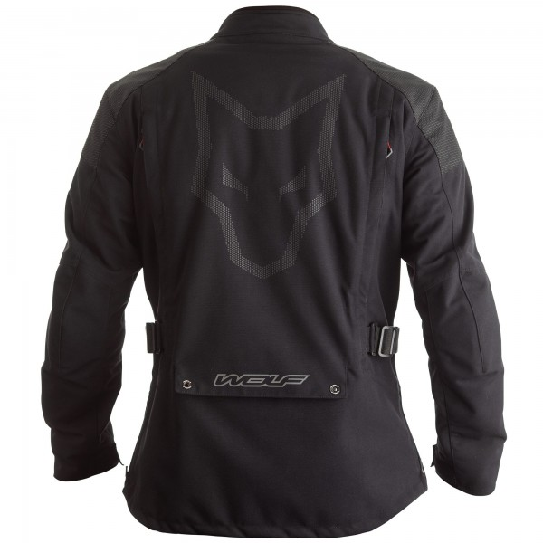 Wolf Fortitude CE Waterproof Textile Jacket - Black