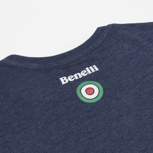 Benelli Vintage Edition T-shirt Blue