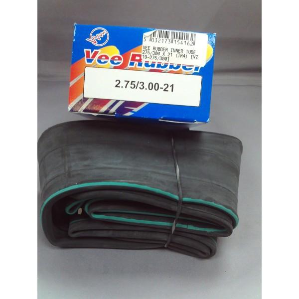 Vee Rubber Inner Tube 275/300 X 21 (TR4)