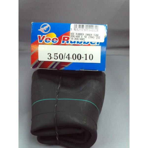 Vee Rubber Inner Tube 350/400 X 10 (TR4)