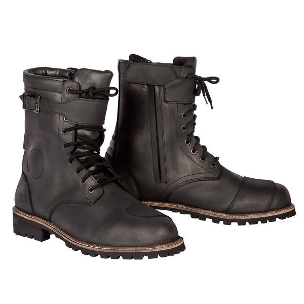 Spada Pilgrim Grande Boots - Distressed Black