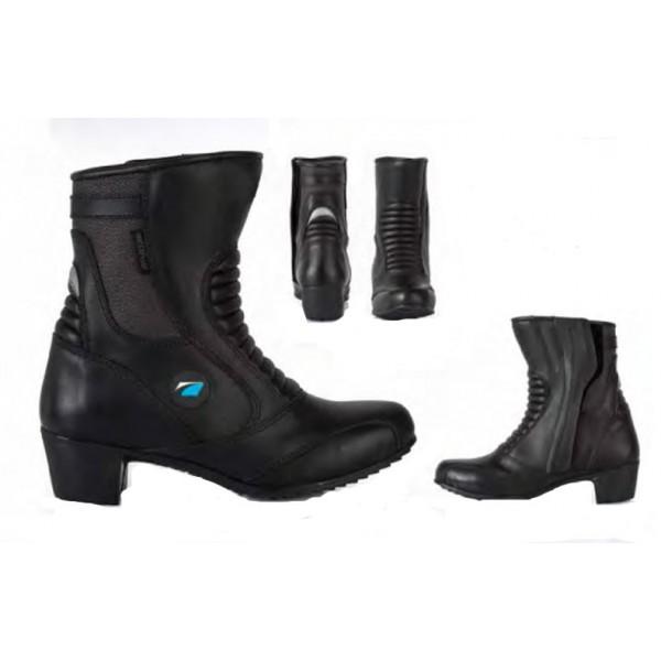 Spada Steel Waterproof Ladies Boots - Black