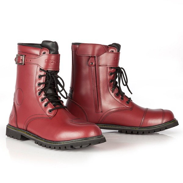 Spada Pilgrim Grande Boots - Cherry Red