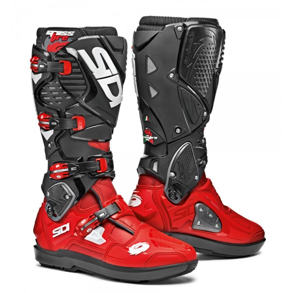 Sidi Crossfire 3 SRS Red/Red/Black CE