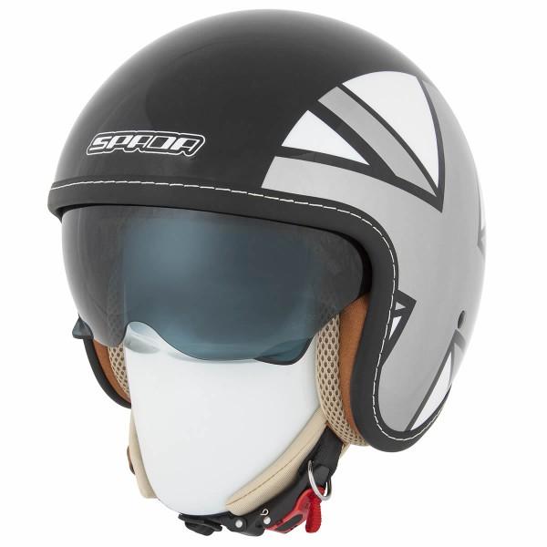 Spada Helmet Raze Empire Black/Silver/Grey