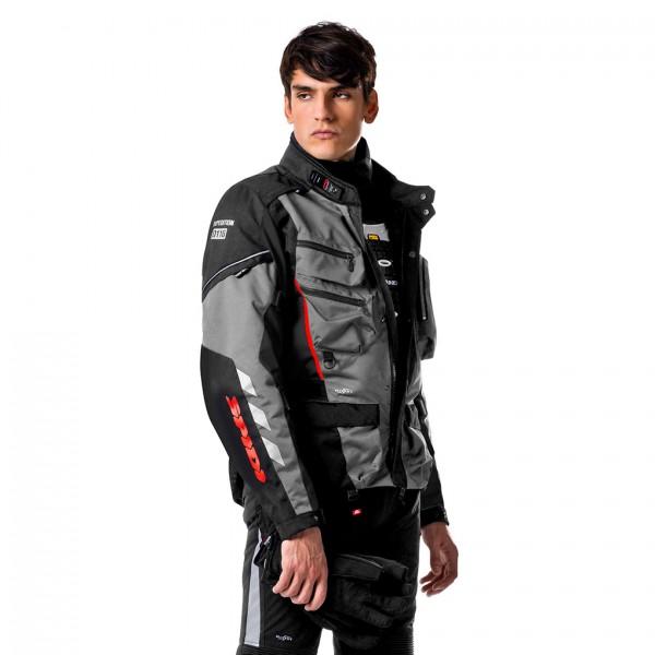 Spidi H2OUT Voyager WP Jacket-Grey/Black