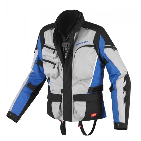 Spidi H2OUT Voyager WP Jacket-Blue/Grey