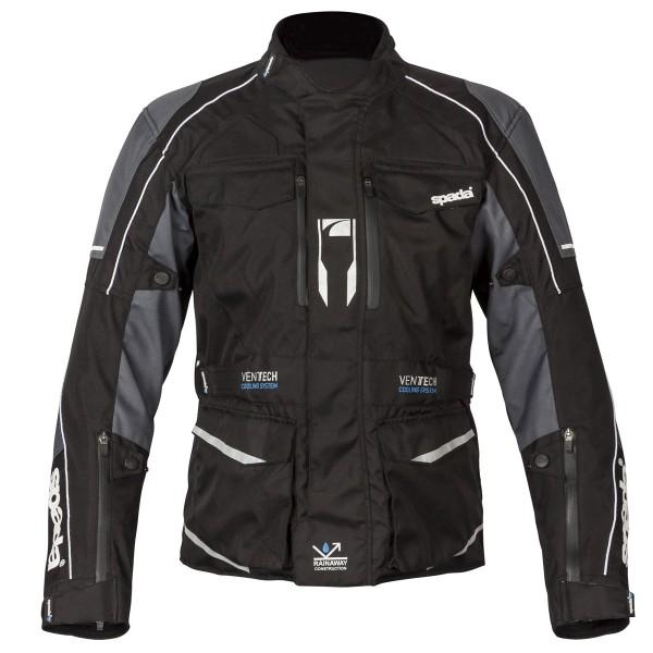 Spada City Nav Textile Jacket - Black