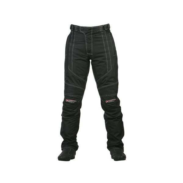Spada Milan-Tex Textile Trousers - Black Short Leg