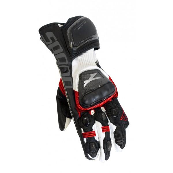 Spada Leather Gloves Elite Red