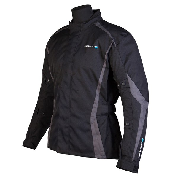 Spada Planet Textile Jacket - Black/Grey