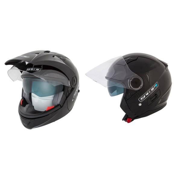 Spada Duo Helmet - Gloss Black