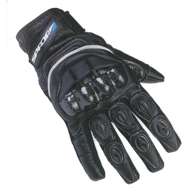 Spada Blast Leather Gloves - Black