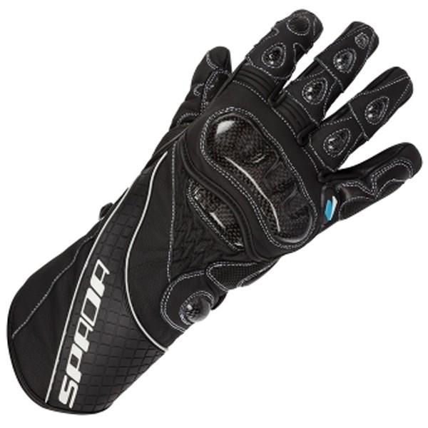 Spada Corsa RD Leather Gloves - Black