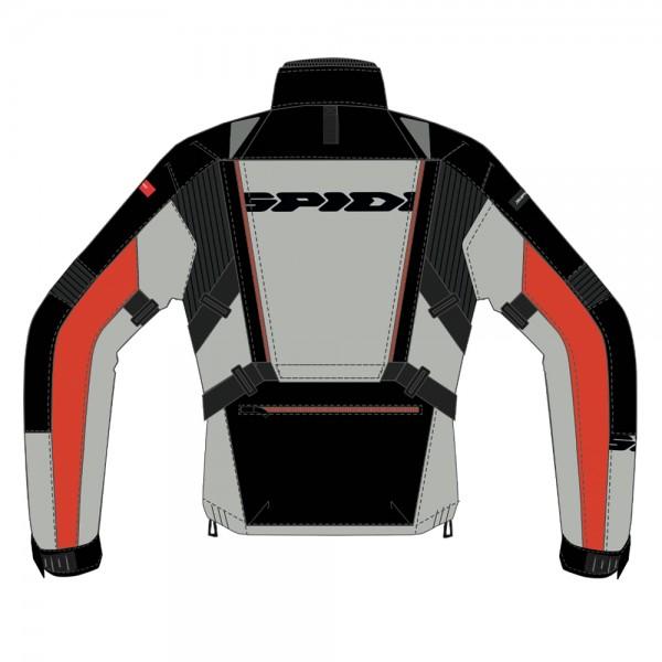 Spidi GB All Road CE Jacket Black/Red