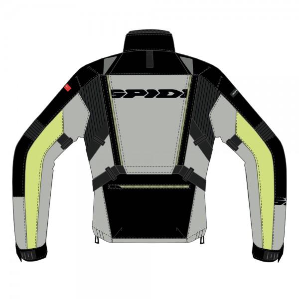 Spidi GB All Road CE Jacket Black/Yellow]