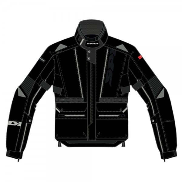 Spidi GB All Road CE Jacket Black