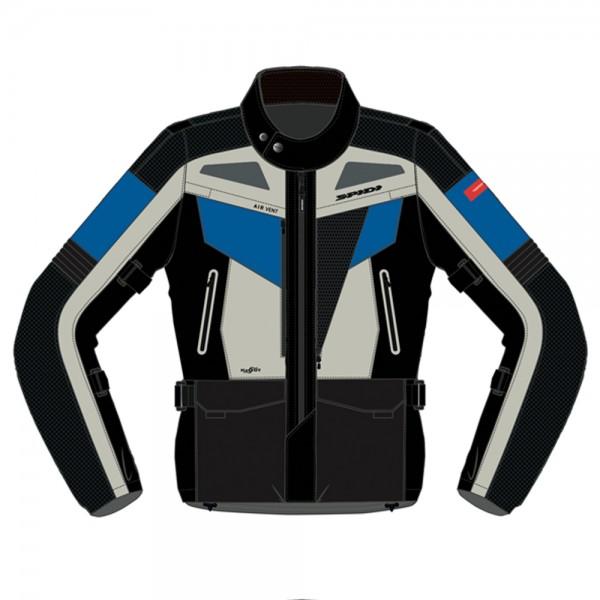 Spidi GB Voyager Evo CE Jacket Black/Blue