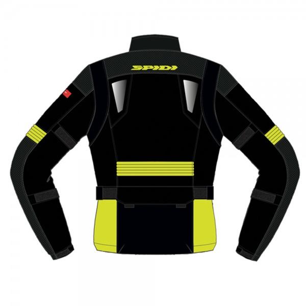 Spidi GB Voyager Evo CE Jacket Black/Yellow